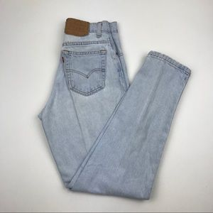 Vintage LEVI'S 550 Wedgie Jeans Size 26 Re/Done